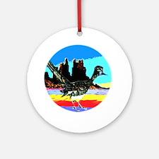 Desert Roadrunner Ornament (Round)