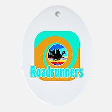 Desert Roadrunner Oval Ornament