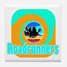 Desert Roadrunner Tile Coaster