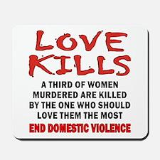 Love Kills Mousepad