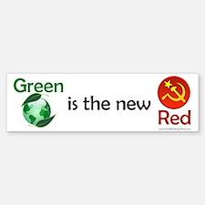 Green is the new Red Bumper Bumper Bumper Sticker