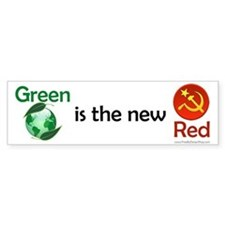 Green is the new Red Bumper Bumper Sticker
