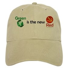 Green is the new Red Baseball Baseball Cap