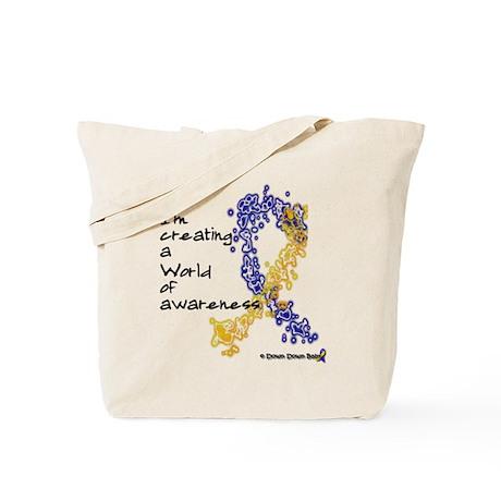 World of awareness Tote Bag