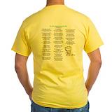 Pharmacy Mens Yellow T-shirts