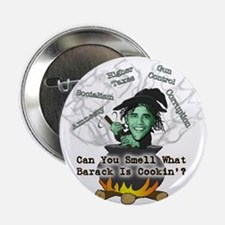 """Barack is Cookin' 2.25"""" Button"""