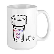 One Pill Two Pill Mug (Large)
