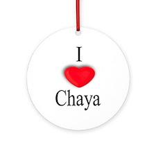 Chaya Ornament (Round)