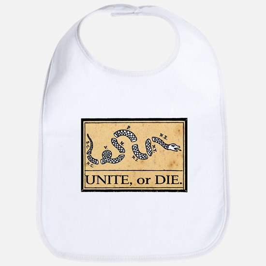 Unite or Die Bib