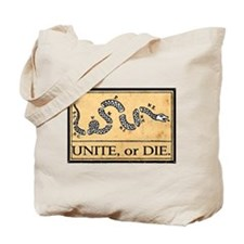 Unite or Die Tote Bag