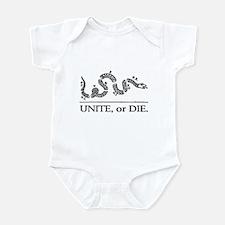 Unite or Die Infant Bodysuit