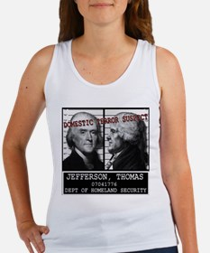 Jefferson Homeland Security S Women's Tank Top
