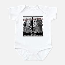 Franklin Homeland Security Su Infant Bodysuit
