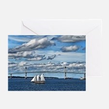 Sails Greeting Cards (Pk of 20)