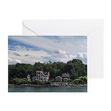 Conanicut LIghthouse Greeting Card