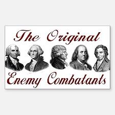 Original Enemy Combatants Rectangle Decal
