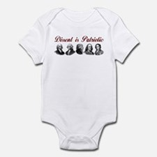 Dissent is Patriotic Infant Bodysuit