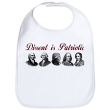 Dissent is Patriotic Bib