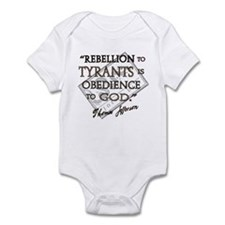 Obedience to God Infant Bodysuit
