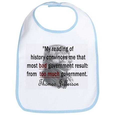 Thomas Jefferson Bad Governme Bib