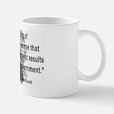 Thomas Jefferson Bad Governme Mug