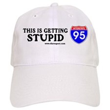 This is Getting Stupid I-95 Baseball Cap