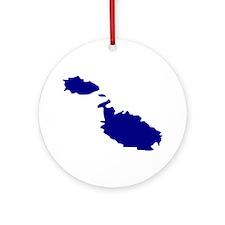 Malta Ornament (Round)
