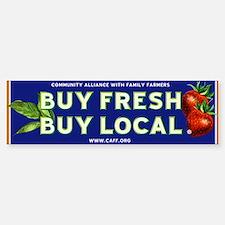 Buy Fresh Buy Local classic Bumper Bumper Bumper Sticker