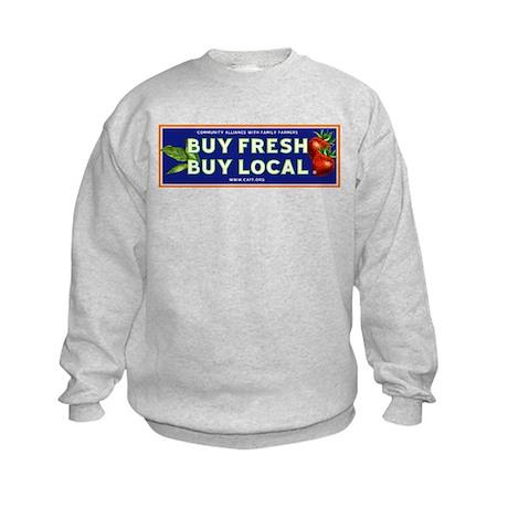 Buy Fresh Buy Local classic Kids Sweatshirt