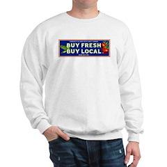 Buy Fresh Buy Local classic Sweatshirt