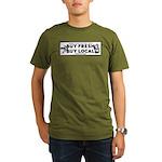 Buy Fresh Buy Local Black & W Organic Men's T-Shir