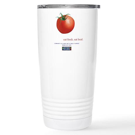 Eat Fresh Tomato Stainless Steel Travel Mug