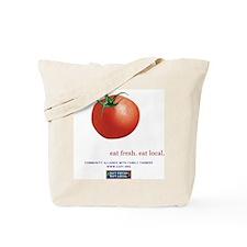 Eat Fresh Tomato Tote Bag