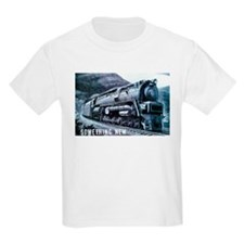 Baldwin S-2 Steam Locomotive Kids T-Shirt