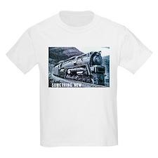 Baldwin S-2 Steam Locomotive Kids T-Shirt