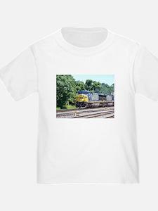 CSX Q190 Doublestack Train T
