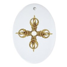Vajra/Dorje Oval Ornament