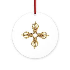 Vajra/Dorje Ornament (Round)