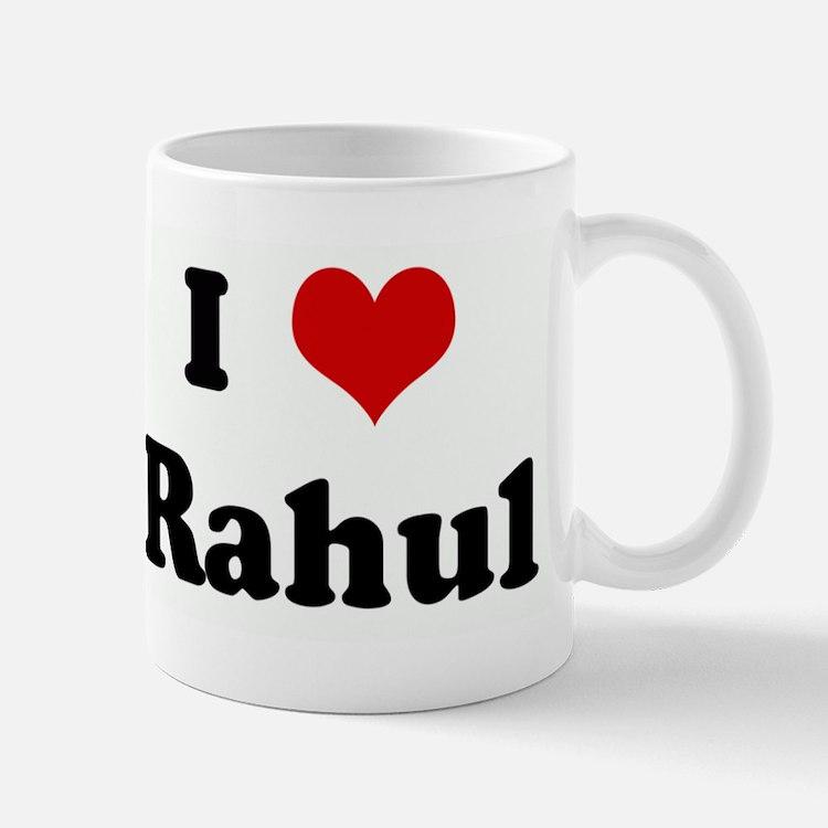 I Love Rahul Mug