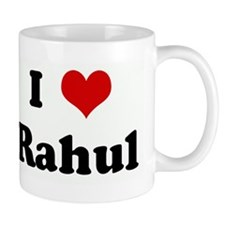 I Love Rahul Small Mug