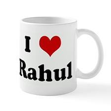 I Love Rahul Small Mug