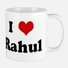 I Love Rahul Small Small Mug