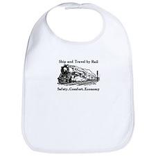 Ship and Travel By Rail Bib