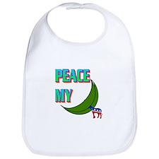 PEACE MY ASS! Bib