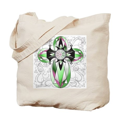 Christian CrossTote Bag, God, Religion