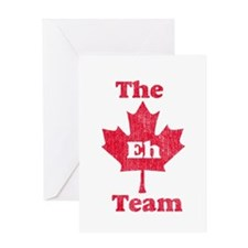 Vintage Team Eh Greeting Card