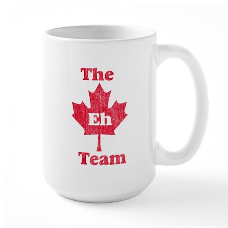 Vintage Team Eh Large Mug