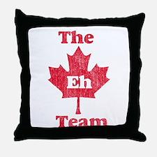 Vintage Team Eh Throw Pillow
