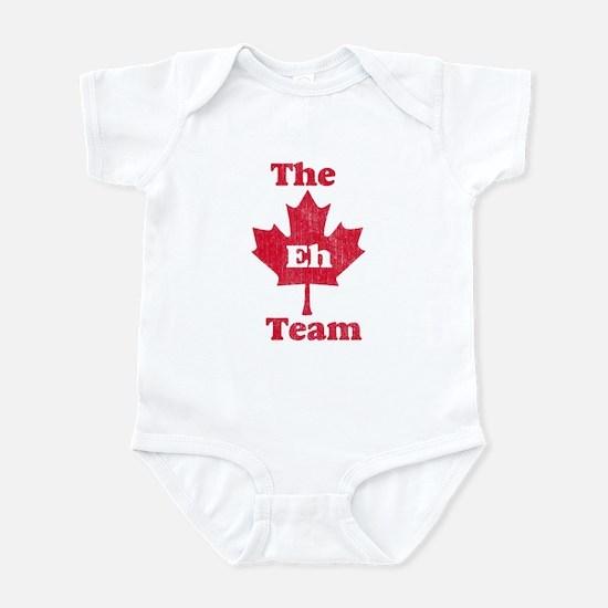 Vintage Team Eh Infant Bodysuit
