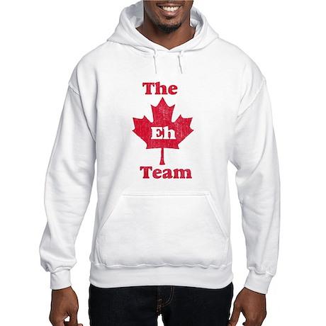 Vintage Team Eh Hooded Sweatshirt